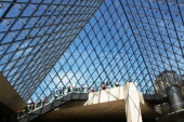 Louvre İçeriden Piramit